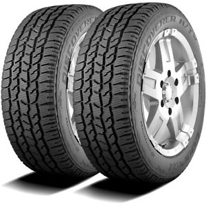 2 New Cooper Discoverer A Tw 235 70r16 106t A T All Terrain Tires