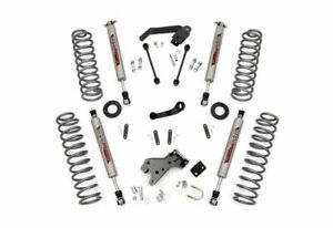 Rough Country 4 0 Suspension Lift Kit For Jeep Wrangler Jk 2dr 4wd 68230