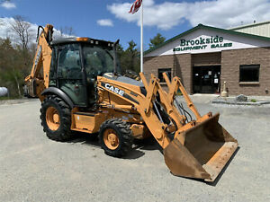 2012 Case 580n Loader Backhoe Only 2 400 Hours 4x4 A c Nice Tractor