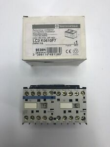 Telemecanique Lc2k0610f7 Reversing Contactor 110v 50 60hz 3hp New In Box