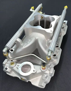 Holley 9901 204 Big Block Chevy Square Port Efi Intake Manifold 4500 Tall Deck