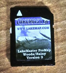 LAKEMASTER WOODS/RAINY Version 3 Lake Of Woods/Rainy Micro SD CARD Map Chip