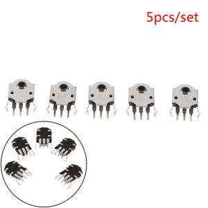 5pcs 9mm Rotary Mouse Scroll Wheel Encoder For Pc Mouse Enco Se