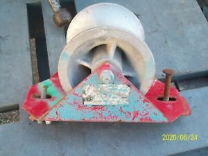 1 Greenlee Ensley Cable Pulling Sheave Tray E 863
