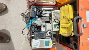 Sokkia Set3b Total Station With Data Collectors And Misc Accessories