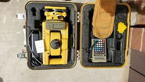Topcon Gts 303 Total Station And Sdr 24 Data Collector
