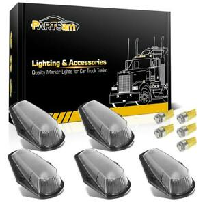 5x Cab Roof Top Clear Lights 5050 Yellow 168 Leds For Ford F 150 250 350 80 97