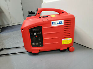 Excel 2600w Digital Inverter Generator With Remote key Start 110v 120v Rv Ready