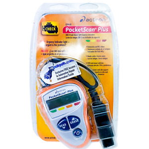Actron Pocketscan Plus Obd Ii Code Reader Urgency Indicators 1996