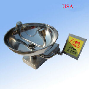 Emergency Eyewash Station 304 Stainless Steel Wall mounted Face Washer Station