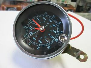 Chevelle El Camino Malibu New Floor Shift Console Clock 66 67 1966 1967