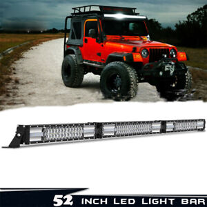 Autofeel 52inch 3042w Led Light Bar Combo Truck Offroad For Jeep Wrangler Jk Cj