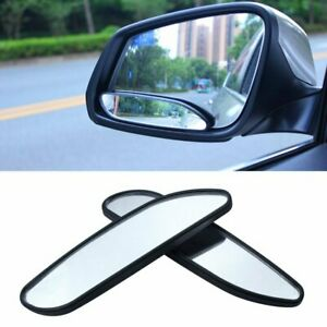 2pcs Auto 360 Wide Angle Convex Rear Side View Car Truck Suv Blind Spot Mirror
