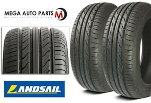2 New Landsail Ls388 175 65r15 84h All Season Touring Tires 50k Mile Warranty