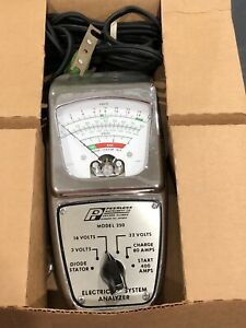 Nos Vintage Peerless Instrument Co Electrical System Analyzer Model No 250