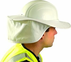 Occunomix One Size Fits All White Cotton Hard Hat Shade