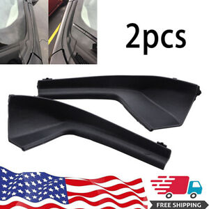 For Nissan 2007 2012 Versa Cowl Grille Outer Cover Driver And Passenger Pair