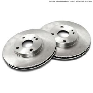 For Vw Quantum Scirocco Jetta Passat Golf Cabrio Front Brake Rotor Set