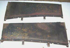 1932 Ford Running Boards Nice Originals Many 32 Parts Listed