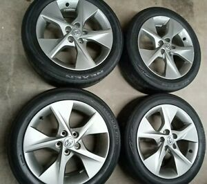 Toyota Camry 2012 2014 18 Oem Wheels Rims Set With Tires No Shipping