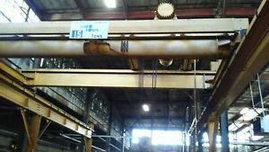 Hydro Power 15 Ton Capacity 17 Span Overhead Double Girder Bridge Crane