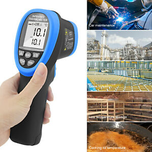 Digital Non contact Ir Infrared Thermometer Handhold Pyrometer Ir Temperature Te