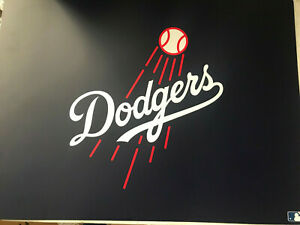 Pottery Barn Teen Mlb Dodgers Desk Mat New