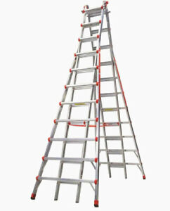 Little Giant Ladders Skyscraper 21 ft Aluminum Type 1a 300 Lbs Capacity Teles