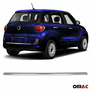 Chrome Trunk Tailgate Grab Handle Trim Cover S Steel For Fiat 500l 2014 2018