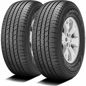 2 New Hankook Dynapro Ht Lt 265 70r17 Load E 10 Ply A s All Season Tires