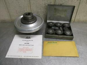 Jacobs Model 91 t0 Rubber flex Collet Chuck W collets L0 Spindle Adapter