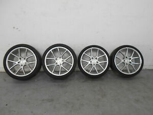 2013 13 14 15 16 Porsche Cayman Boxster S Savini Black 20 Wheel Set 0388