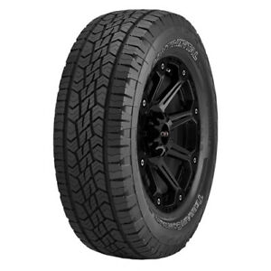 4 245 65r17 Continental Terrain Contact A t 107t B 4 Ply White Letter Tires