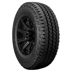 4 lt245 70r17 Firestone Transforce At2 119r E 10 Ply Black Sidewall Tires