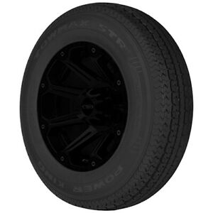 2 st235 85r16 Power King Towmax Strii Trailer 128 124l F 12 Ply Tires
