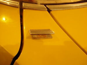 1971 1976 Caprice Top Fender Chrome Trim Impala Gm Convertible Wagon Molding