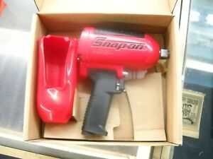 Nos Snap On Red Impact Wrench Heavy Duty Air Mg1250 3 4 Boxed