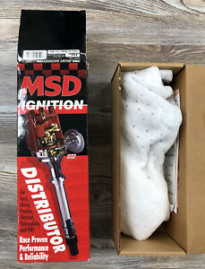 Msd Ignition Pro billet Distributor Part 8360 Chevy V8 Ready To Run New Other