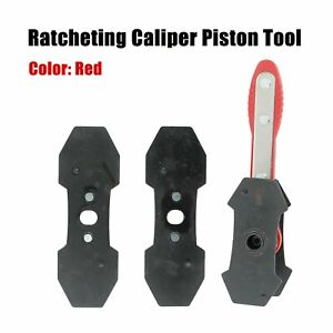 Car Ratchet Brake Piston Spreader Wrench Caliper Pad Install Tool Press Portable