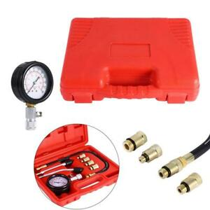 Car Compression Tester Kit Petrol Engines Test Gauge Motorcycle Guage Neilsen