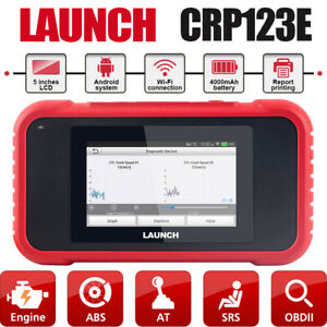 Launch X431 Car Obd2 Scanner Crp123e Check Transmission Abs Srs Engine Scan Tool