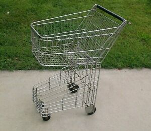 Vintage Grocery Store Shopping Cart Basket