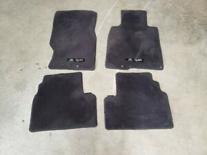 14 15 Infiniti Q40 Sedan Floor Mat Carpet Rug Cover Complete Set Of 4 Lot463 Oem
