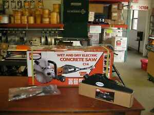 Diamond Products C 14 Electric Hand Held Wet Dry Concrete Saw 14 New