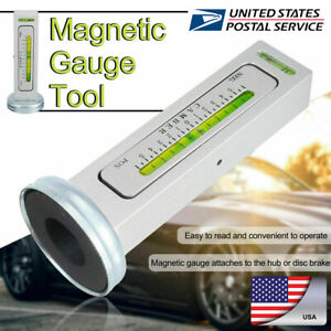 Adjustable Magnetic Gauge Tool Camber Castor Strut Wheel Alignment Car Truck Us