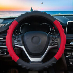 Car Steering Wheel Cover For Women Leather Pu Sports Non Slip Breathable
