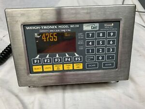 Weigh Tronix Forklift Scale Just A Better Weigh