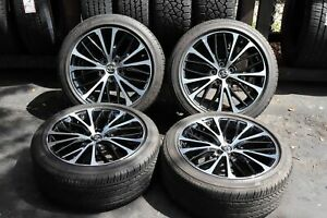 Set Of Four Toyota Camry 2018 18 Oem 235 45 18 Rims Wheels Tires 75221