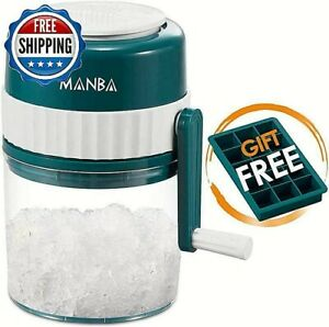 Ice Shaver Snow Maker Cone Machine Crusher Shaved Manual Commercial Frozen