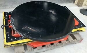 Presto Lifts P3 All Around Pneumatic Load Leveler W 44 Turntable Saftery Skirt